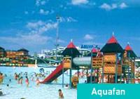 Aquafan, Parco giochi acquatico