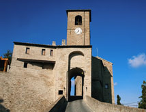 Castles in the province of Rimini