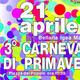 Terza edizione del Carnevale di Primavera a Bellaria