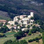 Petrella Guidi panorama dall'alto
